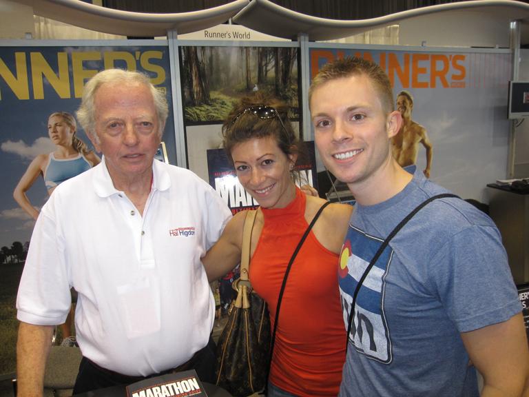 We also met Hal Higdon, whose marathon training plans got me ready for my first marathon in 2008