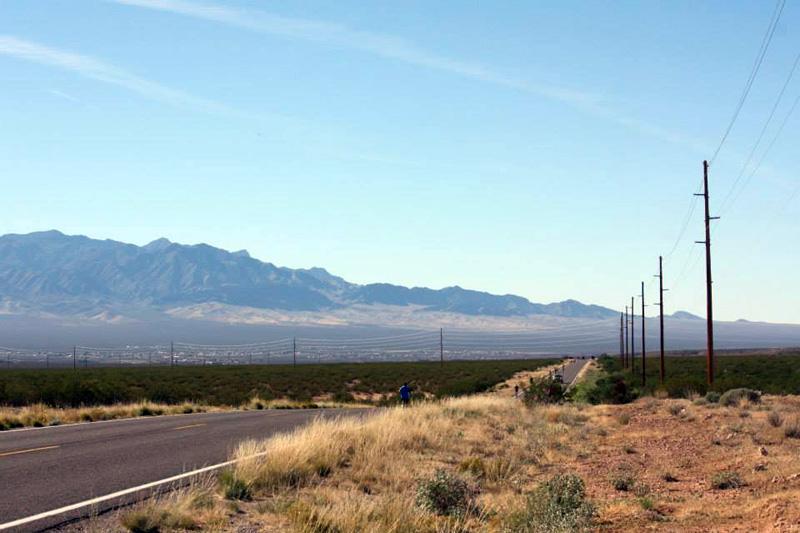Spectacular desert scenery