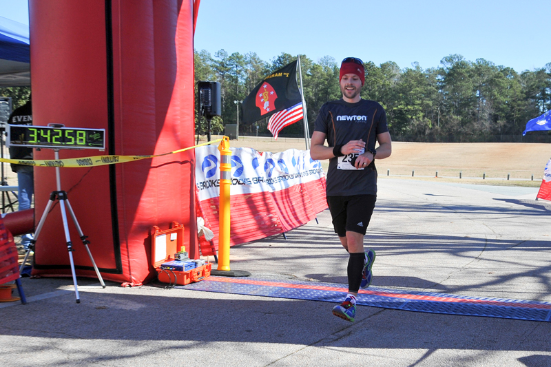 1st place in my age group and 5th overall!