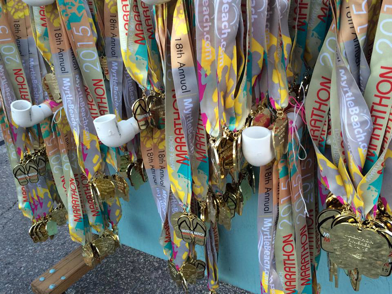 Flip flop medals