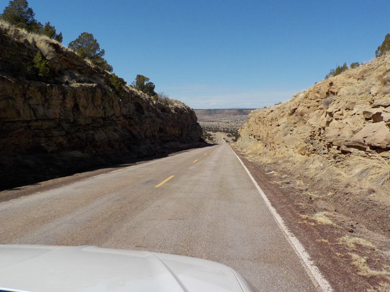 The open roads of New Mexico