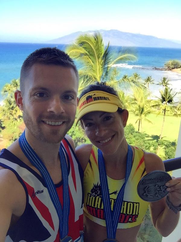 Medal / Award selfie on the balcony